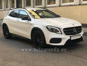 Аренда автомобиля Mercedes-Benz GLA 200 в Цюрихе