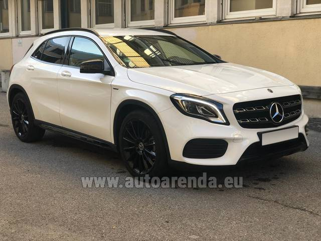 Аренда авто Mercedes-Benz GLA 200 в Швейцарии