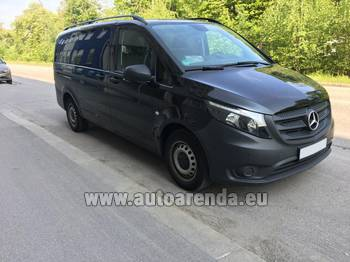 Аренда автомобиля Mercedes-Benz VITO Tourer, 9 мест в аэропорту Женева