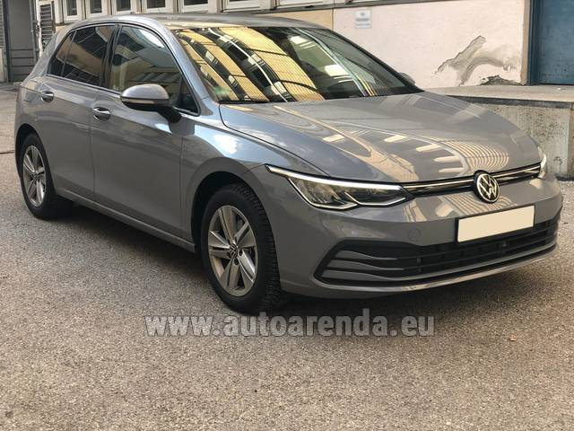 Аренда авто Volkswagen Golf 8 в Швейцарии