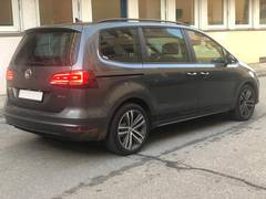 Автомобиль Volkswagen Sharan 4motion для аренды в Швейцарии