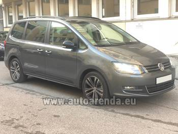 Аренда автомобиля Volkswagen Sharan 4motion в Давосе